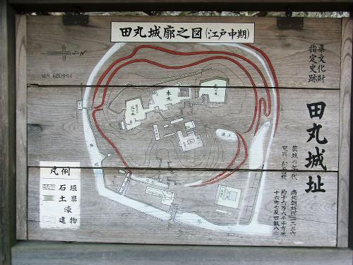 田丸城郭之図