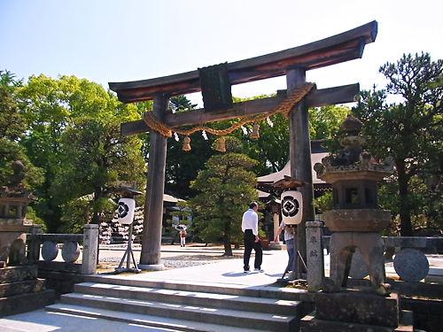 松蔭神社二の鳥居