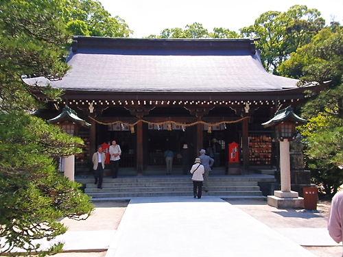 松蔭神社拝殿