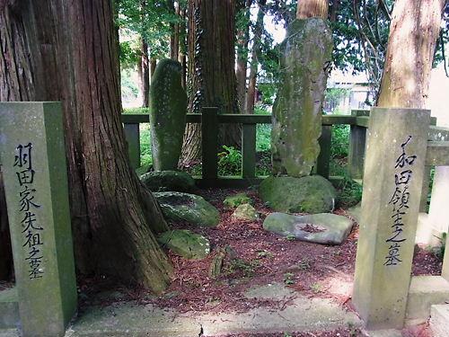 大井信貞の墓