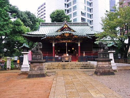 金王八幡宮社殿