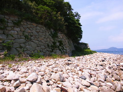 萩城外郭石垣 (2)