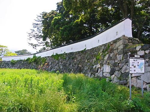萩城外郭土塀