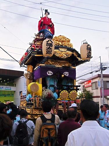 川越祭り2012