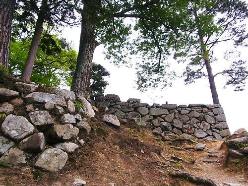 津和野城出丸の石垣