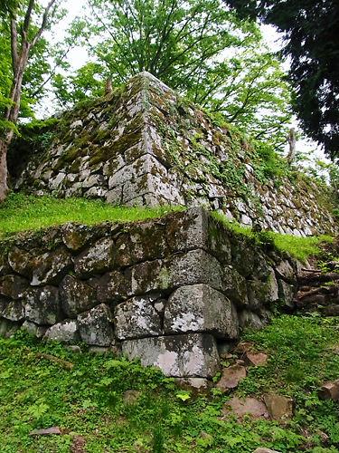 津和野城の石垣