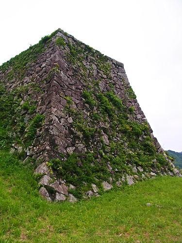 人質櫓の石垣