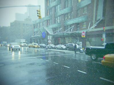 市街地 車 雨 道路 窓