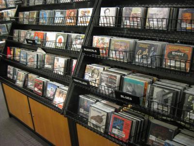 CDs 棚 shop