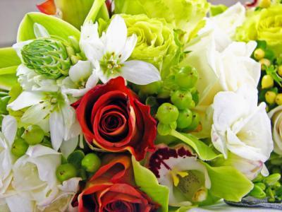 花束 バラ 花
