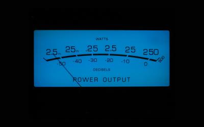 McIntosh meter ブルーアイズ