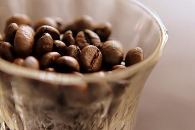 コーヒー豆 glass