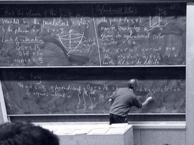 黒板 教室 講義 教授 大学
