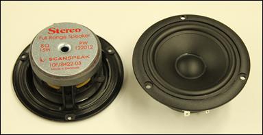 スピーカーユニット 付録 Stereo