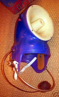 ヘルメット拡声器 スピーカー