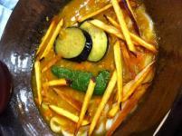 秋野菜カレーうどん