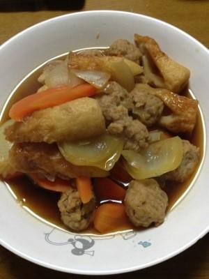 10.25晩飯