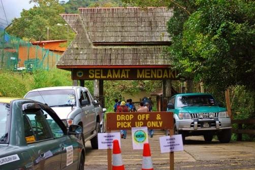 キナバル山10