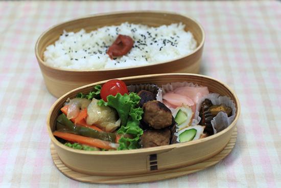 白身魚の野菜あんかけ弁当