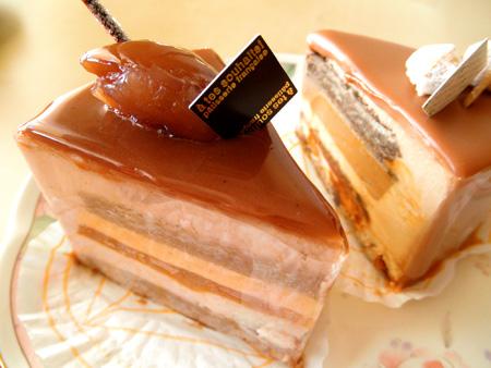 【ケーキ】アテスウェイ「デリスマロンアブリコ」 (2)