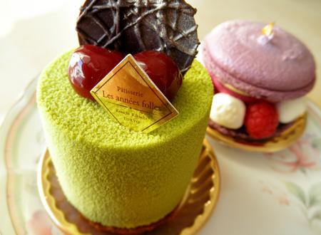 【ケーキ2014】レザネフォール「ピスタッシュグリオット」