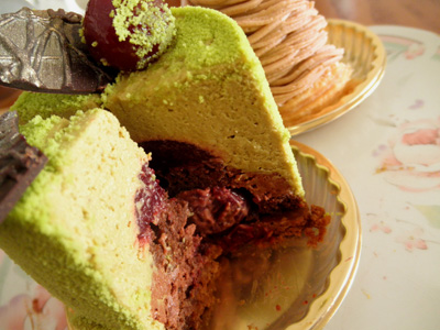 【ケーキ2014】レザネフォール「ピスタッシュグリオット」02