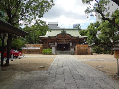 坐摩神社本殿
