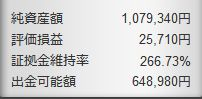 130525FX資産額