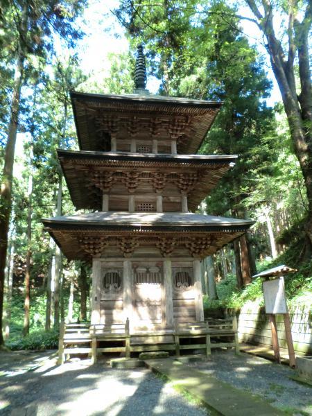 高藏寺三重塔・12