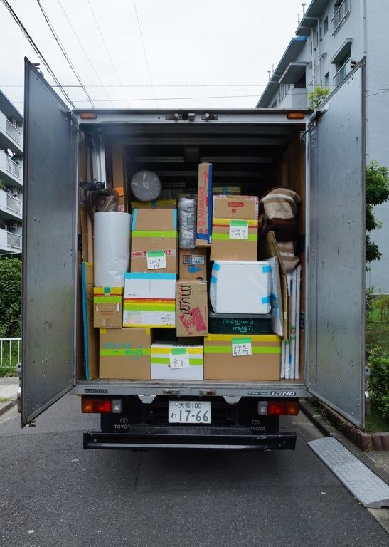 奈義町現代美術館搬入中島麦