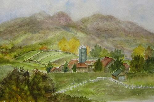 秋の蒜山高原
