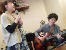 ボーカル受講者とギター受講者