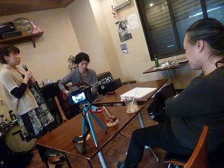 ボーカル受講者とギター受講者とg村山義光講師