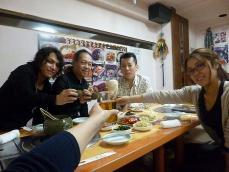 g村山義光氏vo田中千賀さん、大阪からお越しのお客さま