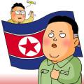北朝鮮-イラスト
