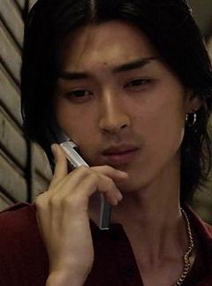 携帯電話と松田翔太
