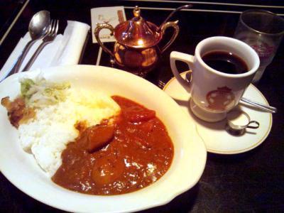 喫茶ブルーライト 朝カレー