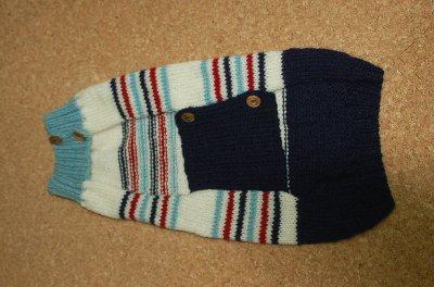 縞セーター2