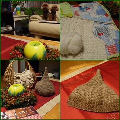 編み物とパイピング