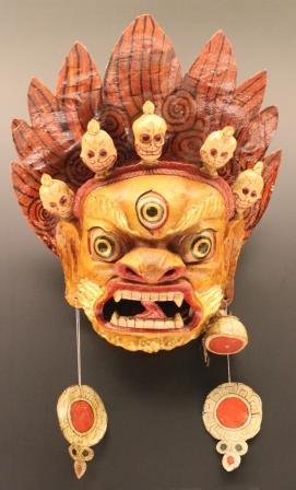 上海博物館のお面1
