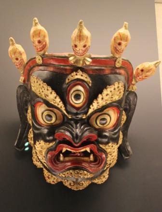 上海博物館のお面3