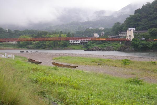 20日の美濃橋下流