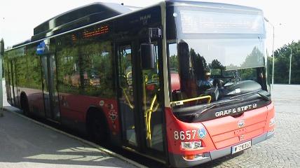 ハイリゲンシュタットから乗って来たバス