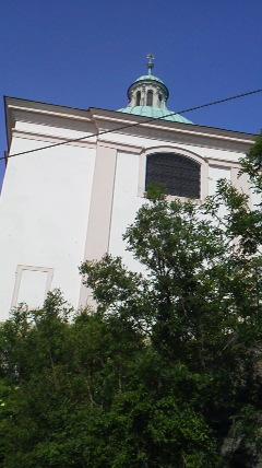 レオポルツブルクの教会かレストラン