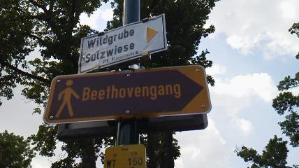 ベートーヴェンの散歩道はこっち