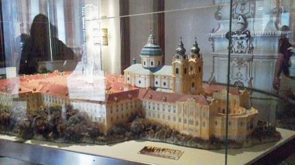 メルク修道院今の模型