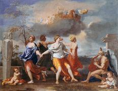 プッサン 人生の踊り