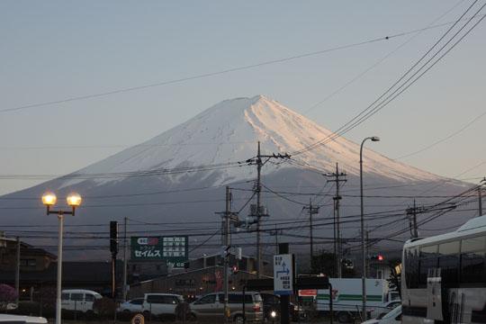 108夕方富士山
