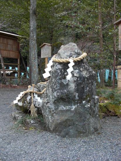 丹生川神社下社・名石04