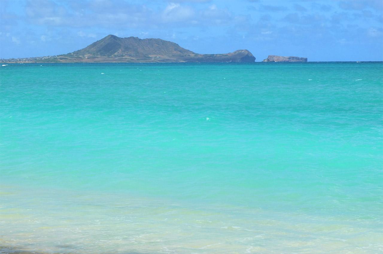 9538 カイルアビーチ方面の眺め 1280×850